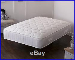 3000 Quilted Memory Foam Pocket Sprung Mattress, 3ft 4ft 4ft6 Double 5ft King