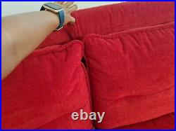 3 Seater sofa bed with memory foam mattress