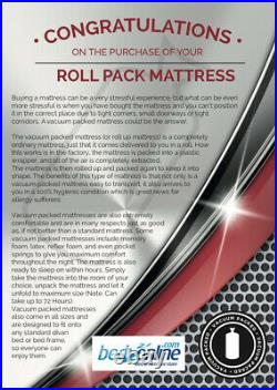 Brand New Deluxe Orthopedic Reflex Foam Mattress Firm Support All Sizes