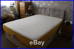 Eve 4 memory foam mattress -double bed size -immaculate-free delivery option
