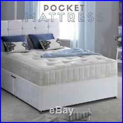 Grace White Wooden Ottoman Storage Bed 4ft6 Double and 5ft King Size