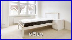 IKEA Double Bed Frame and Memory Foam Mattress