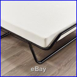 Jay Be Supreme Double Folding Guest Bed with Memory Foam Mattress J Tex Base