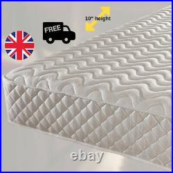 Memory Foam Mattress Luxury Micro Quilted Spring Single Double King Mattress