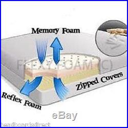 Memory Foam Orthopaedic Matress Double 4ft6 5ft King Size Free Covers
