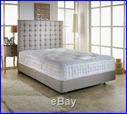 Memory Foam Quilted Pocket Sprung Mattress 3ft Single 4ft6 Double 5ft King UK
