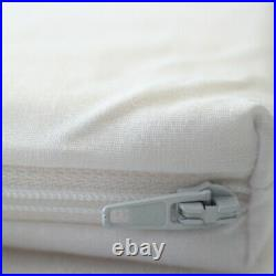 Memory Foam Travel Mattress Topper (With Bag) Camping Motorhome Single & Double