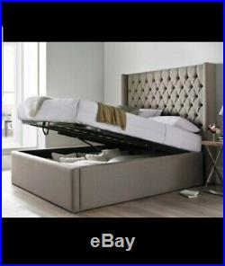 New High Quality Ottoman Bed With Gas Lift Storage