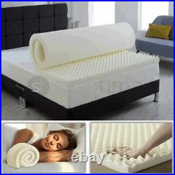 New Memory Foam Mattress Topper At All Thicknesses and Sizes And Free Zip Cover