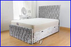 New Modern Ottoman Storage bed with luxurious foot and headboard