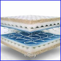 Orthopaedic Memory Foam Single Double Super Kingsize Coil Spring Rolled Mattress