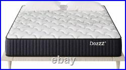 Queen Double Spring Mattress 12 Inch in a Box with Pressure Relief Cool Gel Memo