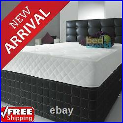 Quilted Memory Foam Mattress 3ft Single 4ft Small Double 4ft6 Double 5ft King
